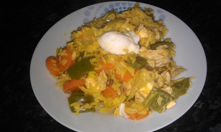 Mackerel kedgeree